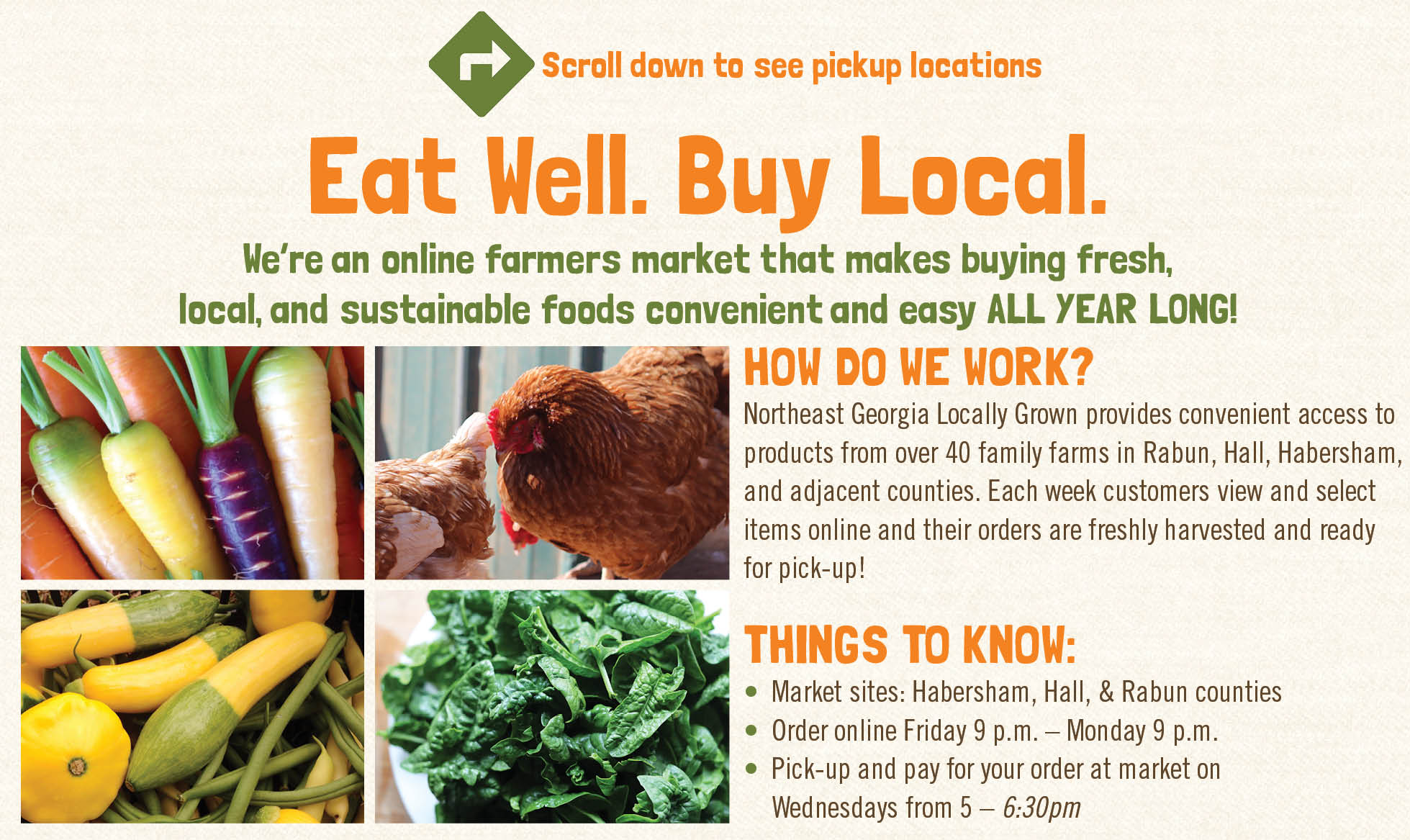 Northeast GA Locally Grown — LocallyGrown.net on pull up order, repair order, pick ticket template, taking a coffee order, money order, payment order, make up order, check order, walking with order, delivering a coffee order, work order,